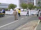 No AM, novo protesto contra salários atrasados na Saúde afeta trânsito