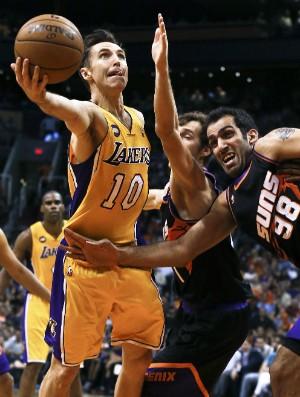 Steve Nash, Los Angeles Lakers - AP (Foto: AP)