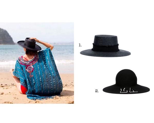 Escolha o seu modelo para a praia:  1. Rag & Bone. 2. Joshua Sanders (Foto: Instagram)