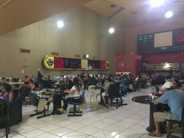 Bingo recebeu bom público neste domingo em Porto Alegre (Foto: Zete Padilha/RBS TV)