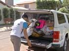 Voluntários percorrem bairros para recolher doações ao Aquece MS
