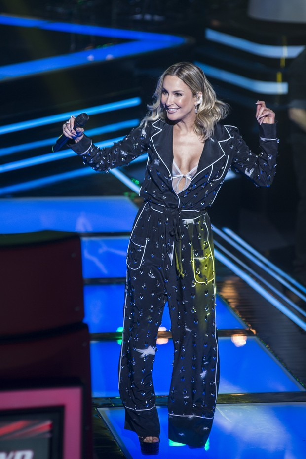 Claudia Leitte no The Voice Brasil (Foto: Mauricio Fidalgo/TV Globo)