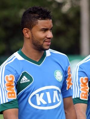 Maurício Ramos e Souza treino Palmeiras (Foto: Cleber Akamine)