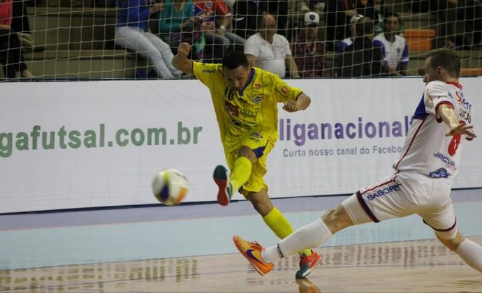 São José Futsal x Lajeado (Foto: Quarttus Marketing/Divulgação)