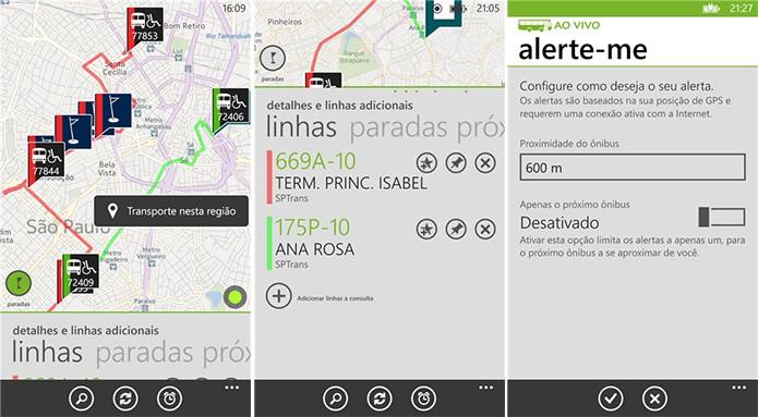 Ônibus Ao Vivo é um aplicativo para Windows Phone que promete facilitar a vida do usuário de transporte público (Foto: Divulgação/Windows Phone Store)