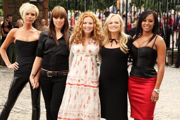 Victoria Beckham, Mel C, Geri Halliwell, Emma Bunton e Mel B (Foto: Getty Images)