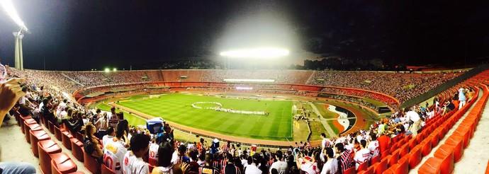 Estádio do Morumbi, em São Paulo (Foto: Murilo Borges)