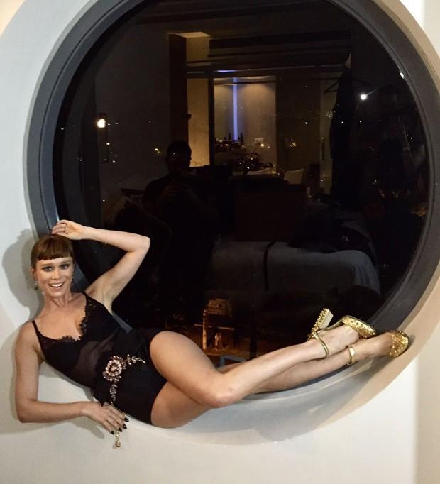 [Baile Vogue] Mariana Ximenes (Foto: Divulgao/GNT)