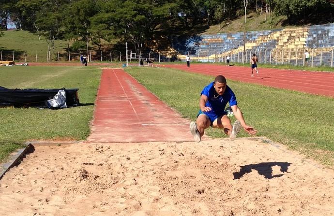 Kelves, atletismo Presidente Prudente (Foto: João Paulo Tilio / GloboEsporte.com)
