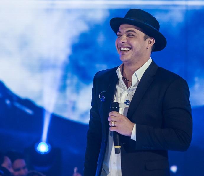 'Coração Machucado': Wesley Safadão cantou hit (Foto: Artur Meninea/Gshow)