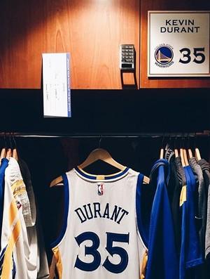 Camisa Kevin Durant para estreia na NBA