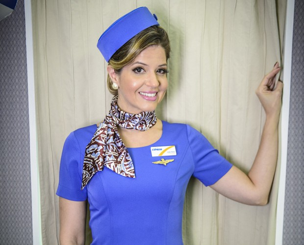Mariana Santos explica rotina de gravações do Zorra (Foto: Alex Carvalho / TV Globo)