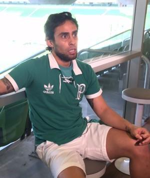 Valdivia Palmeiras entrevista (Foto: Felipe Zito)