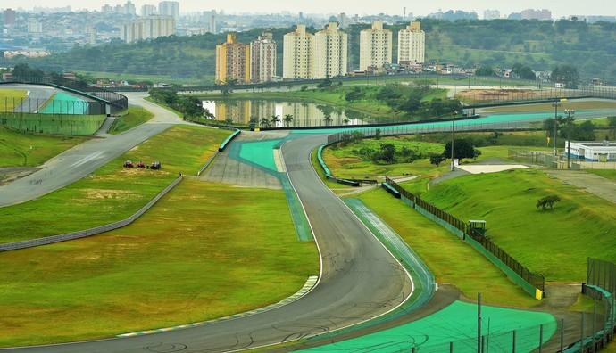 Reforma em Interlagos Fórmula 1 (Foto: Marcos Ribolli)