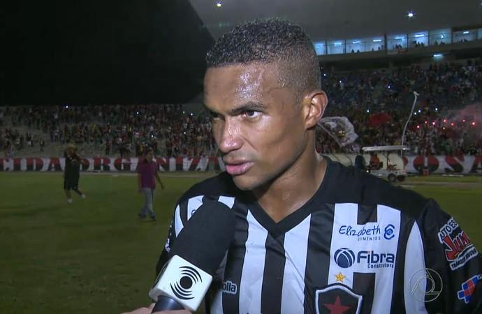 Ângelo, Botafogo-PB (Foto: Reprodução / TV Paraíba)