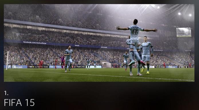 O game de futebol Fifa 15 foi o jogo mais comentado no mundo em 2015 (Foto: Divulgação/Facebook)