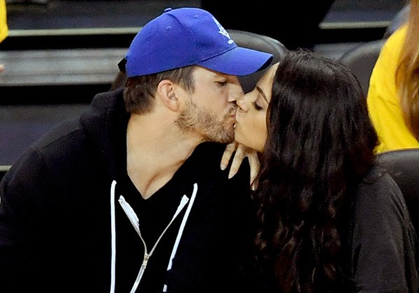 Mila Kunis e Ashton Kutcher (Foto: Getty Images)