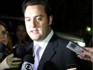 Ratinho Junior (PSC) (Foto: Sérgio Tavares Filho/G1 PR)