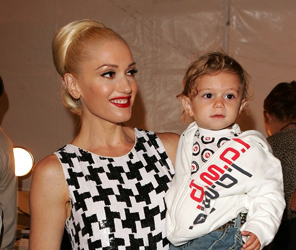 Gwen Stefani e o filho Kingston Rossdale (Foto: Getty Images)