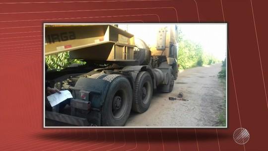 Motorista de carreta é amarrado e tem pneus do veículo roubados na Bahia