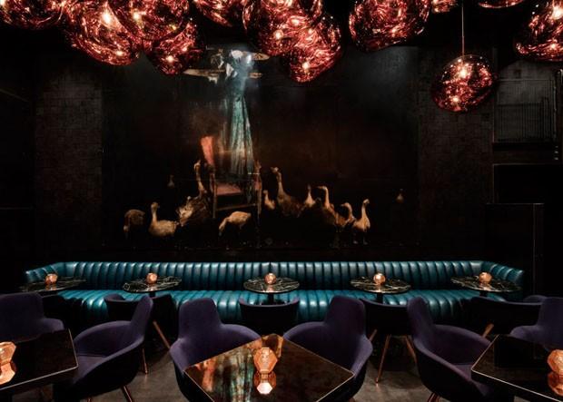 Tom Dixon assina design de interiores de restaurante japonês em Atlanta (Foto: Divulgação)