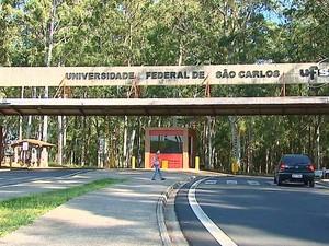 Campus da UFSCar em São Carlos (Foto: Reprodução/EPTV)