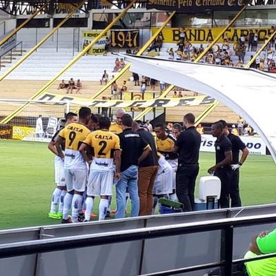 Criciúma x Metropolitano (Foto: J. Éder/Rádio Eldorado)