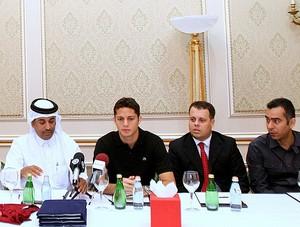anderson martins apresentação qatar (Foto: Divulgação)