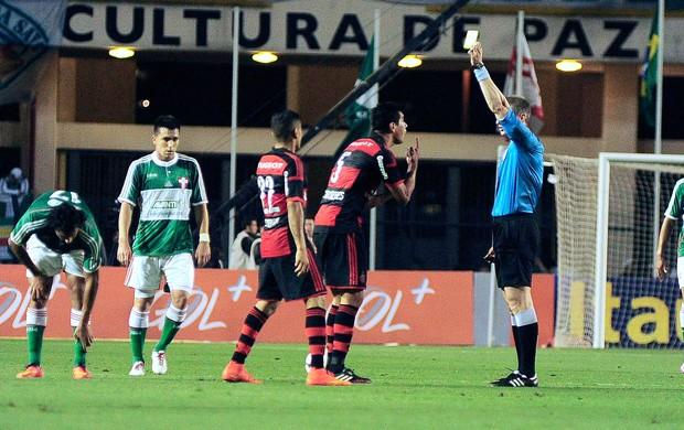 Caceres, Palmeiras X Flamengo (Foto: Marcos Ribolli)