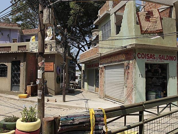 Favela cenográfica de Salve Jorge (Foto: Salve Jorge/TV Globo)