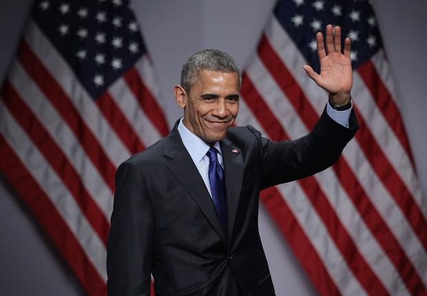 Barack Obama, o 44º presidente dos EUA (Foto: Alex Wong/Getty Images)