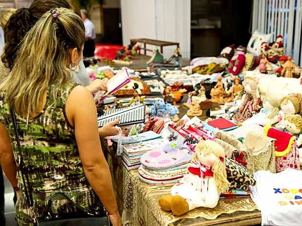 Peças em exposição na Feira de Botânica do Brasília Shopping (Foto: Telmo Ximenes/Divulgação)