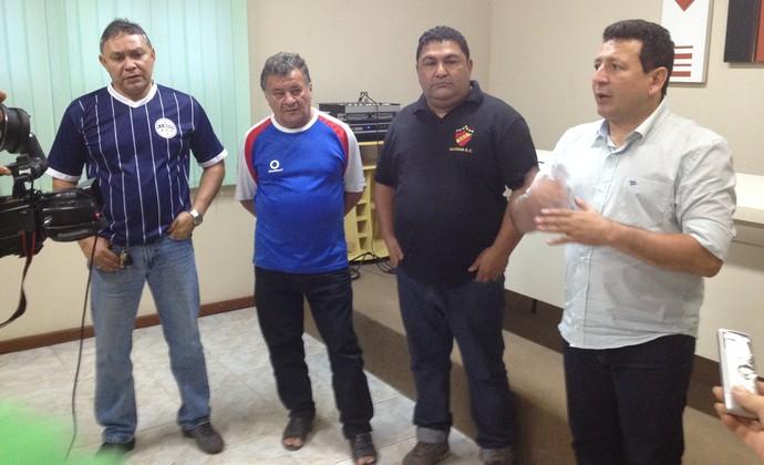 'Só se for Piçica', diz presidente da FAF para o 'Amapazão' não iniciar dia 15 (Foto: Jonhwene Silva/GE-AP)