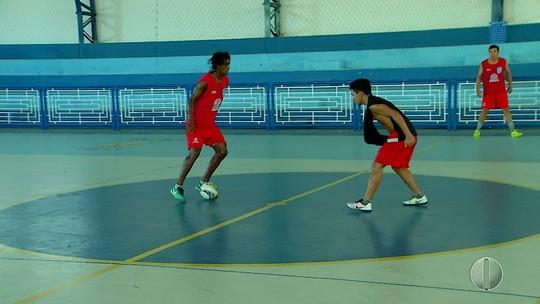 Macau treina forte para a estreia em casa na Copa do Brasil de Futsal