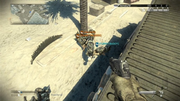 Cães de guarda não trabalham bem em equipe no Call of Duty: Ghosts (Foto: Reprodução) (Foto: Cães de guarda não trabalham bem em equipe no Call of Duty: Ghosts (Foto: Reprodução))