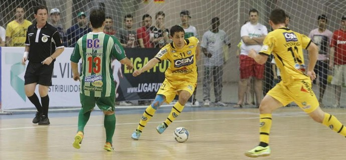 Jaraguá Cabo Frio Liga Futsal (Foto: Beto Costa/CSM)