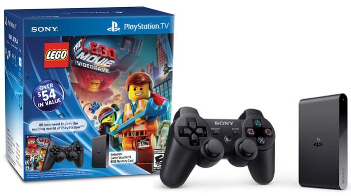PlayStation TV será vendido em pacote individual ou com The LEGO Movie Videogame (Foto: PlayStation Blog) (Foto: PlayStation TV será vendido em pacote individual ou com The LEGO Movie Videogame (Foto: PlayStation Blog))