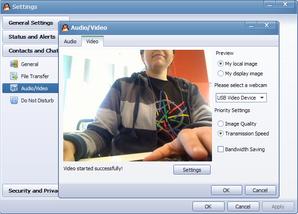 Grave vídeos com o QQ Messenger