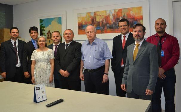 Projeto Visitação recebeu magistrados de Sergipe  (Foto: Divulgação/TV Sergipe)