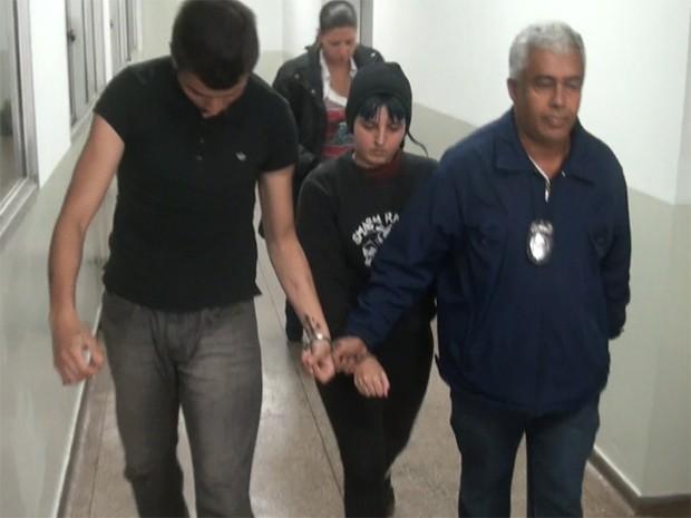 Casal suspeito de envolvimento em morte de universitário na Unicamp foi preso em Campinas (Foto: G1 Campinas)