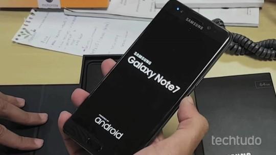 Galaxy Note 7: após incêndios, Samsung encerra fabricação do celular