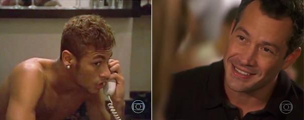 Na prévia da nova novela da Globo das 9, Amor à Vida, você vê a participação de Neymar e ainda Malvino Salvador, que está no elenco (Foto: Globo)