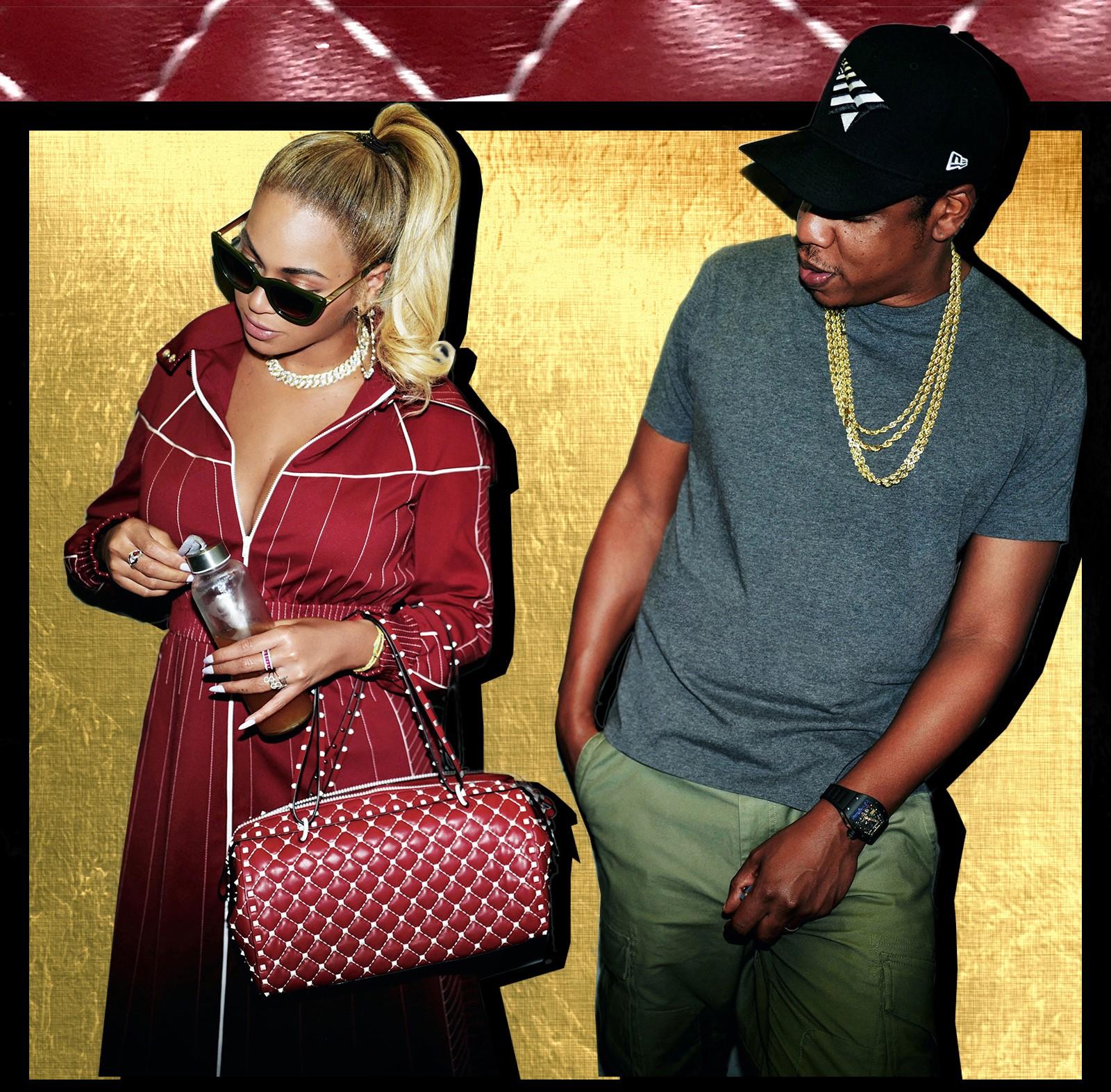 Jay-Z impressionado (Foto: Reprodução/Beyonce.com)