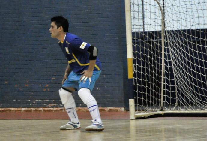 Tiago Brasil futsal (Foto: Danilo Camargo/Divugação)