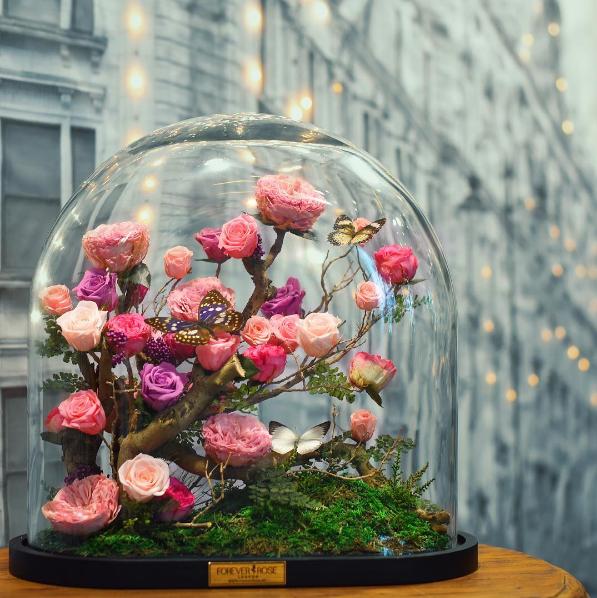 forever-rose-flor-dura-20-anos-bela-e-a-fera-1 (Foto: Divulgação/Instagram)