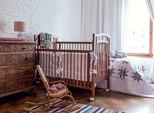quarto-de-criança-tijolos-brancos-arquiteto-thiago-passos (Foto: Lufe Gomes/Editora Globo)