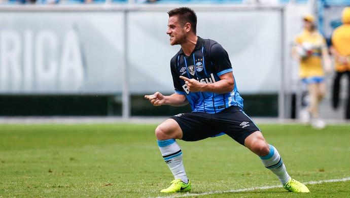 Grêmio x Passo Fundo Arena Gauchão Ramiro gol (Foto: Lucas Uebel/Grêmio/Divulgação)