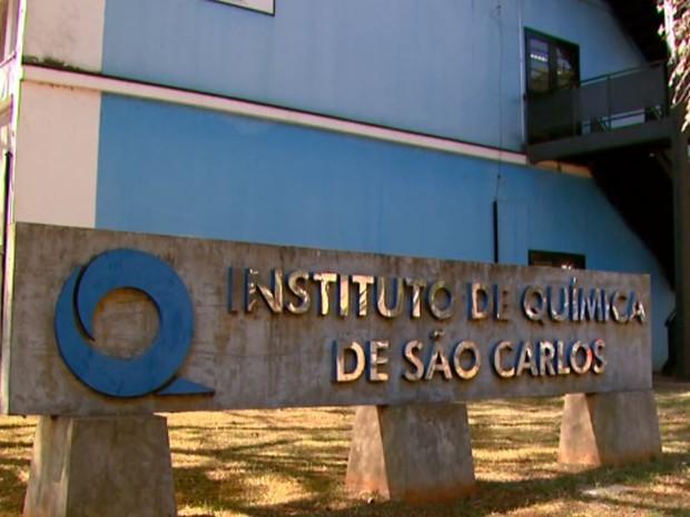 Instituto de Química de USP de São Carlos (Foto: Paulo Chiari/ EPTV)