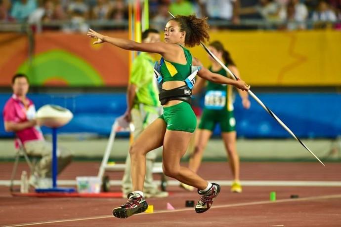 Alexandra Maria atleta de Lagoa da Prata no Jogos da Juventude na China (Foto: Wender Roberto/ Divulgação)