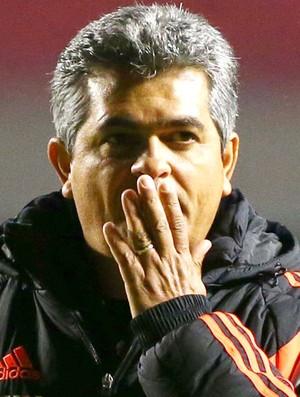 Ney Franco Flamengo e Figueirense (Foto: Marcos Bezerra / Futura press)